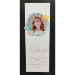 Invitación con encaje